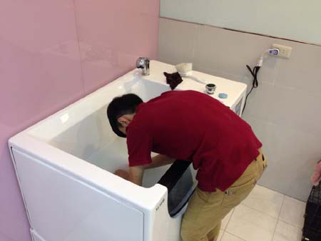 Top Pet SPA magnetization microbubble bath-Keelung City